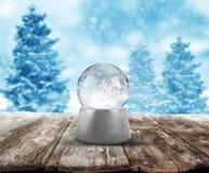 Xmas-snöboll arkivfoto
