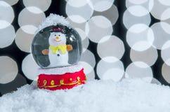 Xmas Snow Globe Royalty Free Stock Photo