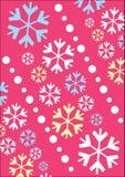 Xmas snowflake texture Stock Image