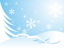 Xmas snowflakes Royalty Free Stock Photos