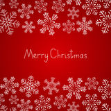 Xmas snowflakes background Royalty Free Stock Photo