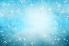 Xmas snowflakes copy space background Royalty Free Stock Images