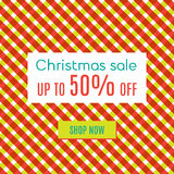 Xmas special sale Royalty Free Stock Photo