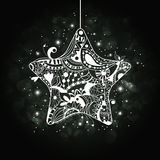 Xmas star Royalty Free Stock Photography