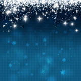 Xmas Star Lights Royalty Free Stock Image