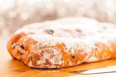 Xmas Stollen Royalty Free Stock Images