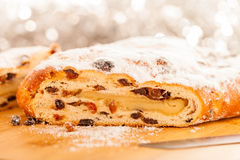 Xmas Stollen Stock Images