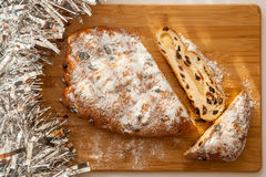 Xmas Stollen Royalty Free Stock Image