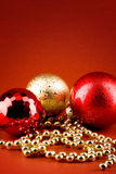 Xmas style card Stock Images