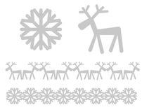 Xmas-symboler Arkivfoto