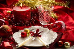 Xmas table Stock Photos