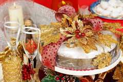Xmas table Royalty Free Stock Image