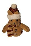 Xmas Teddy bear Stock Photo