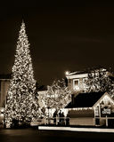 Xmas Time. Westlake Village Promenade Stock Photo