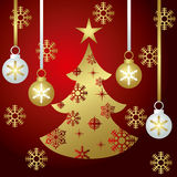 Xmas Tree. Illustration of the Christmas season Royalty Free Stock Photo