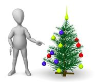 Xmas tree Stock Image