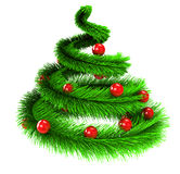 Xmas tree Royalty Free Stock Images