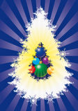 Xmas tree Stock Images
