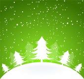 Xmas tree. Vector illustration of Xmas tree Stock Photo