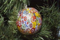Xmas Tree Ball Royalty Free Stock Photography