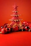 Xmas tree card Royalty Free Stock Image