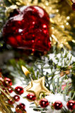 Xmas tree decoration Stock Photography