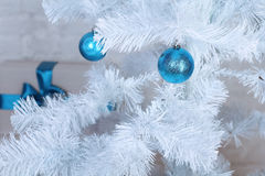 Xmas tree decoration, decorated Royalty Free Stock Photo