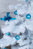 Xmas tree decoration, fur-tree Stock Photo