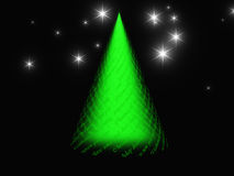 Xmas tree design Royalty Free Stock Photo