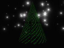 Xmas tree design Royalty Free Stock Images