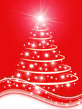 Xmas tree illustration Stock Images