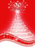 Xmas tree illustration Royalty Free Stock Photos