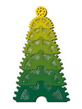 Xmas tree. Illustration in Royalty Free Stock Image