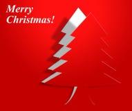 Xmas Tree Indicates Merry Christmas And Greeting Royalty Free Stock Image