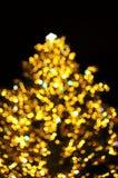 Xmas tree lights Royalty Free Stock Image