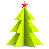 Xmas Tree Means Merry Christmas And Backdrop Stock Photography