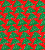 Xmas Tree Pattern Texture Stock Photo