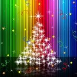 Xmas Tree Represents New Year And Festive Royalty Free Stock Photos
