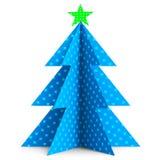 Xmas Tree Shows Merry Christmas And Celebrate Stock Photos