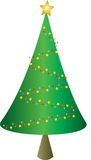 Xmas tree royalty free stock photos