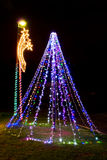 Xmas Tree - Xmas Llights Royalty Free Stock Photography