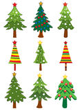 Xmas trees Stock Photography