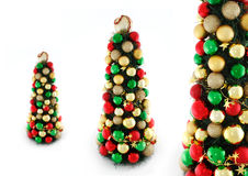 Xmas trees Stock Images