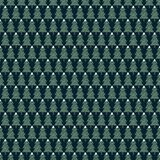 Xmas trees simple seamless pattern. Happy New Year background. Vector design for winter holidays on dark blue background. Child drawing style trees Stock Image