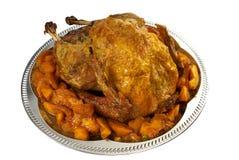 Xmas turkey stock photo