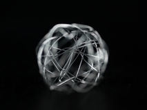 Xmas wire ball Royalty Free Stock Photo