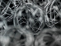 Xmas wire ball Royalty Free Stock Image