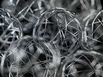 Xmas wire ball Royalty Free Stock Photos