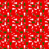 Xmas wrapping paper Stock Images