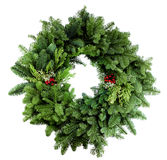 Xmas Wreath 2012 Stock Photos
